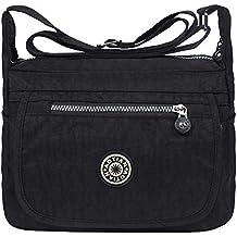 dbc6cb1576 EGOGO le donne impermeabile borse a spalla messenger borsa a tracolla E303-6