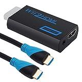 Bostecks Adaptateur Wii vers HDMI, Connecteur de Conversion Wii vers HDMI Avec Sortie...