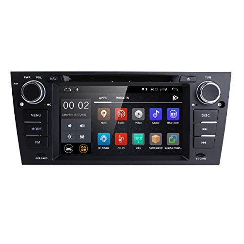 hizpo Android 8.1 Quad Core 7 pollici Car Stereo Multi-Touch Screen Radio CD Lettore DVD Schermo video 1080P BMW E90 / 2006-2011 E91 / 2006-2011 E92 / 2006-2011 E93 / 2007-2012