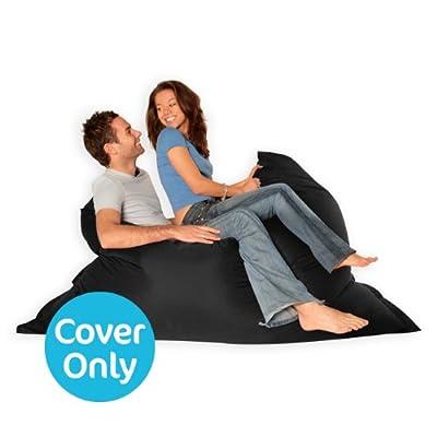 BAZAAR BAG ® - Giant Beanbag - Indoor & Outdoor Bean Bag - MASSIVE 180x140cm - GREAT for Garden - COVER ONLY