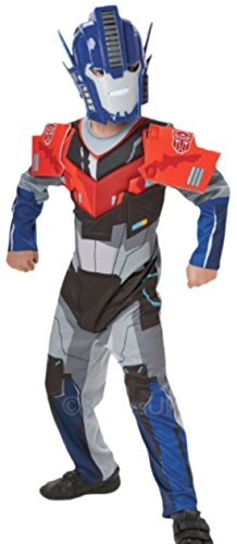 Transformer Kostüm Junge (erdbeerloft - Jungen Optimus Prime Transformers Karneval Faschingskostüm, 134,)