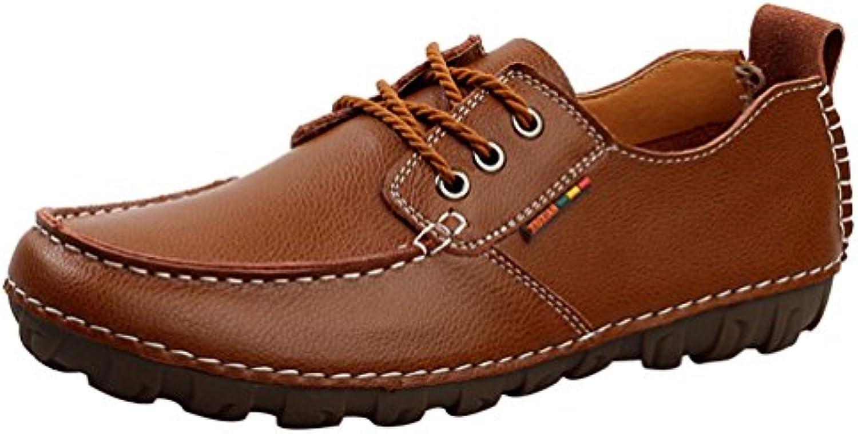 les nouveaux hommes salabobo qyy-116 cuir conduite chaussures confortables conduite cuir occasionnels business 760215
