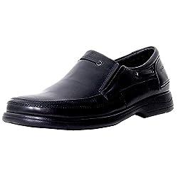 Valentino Genuine Leather Men ENDEVOUR19BLACK Formal Shoes