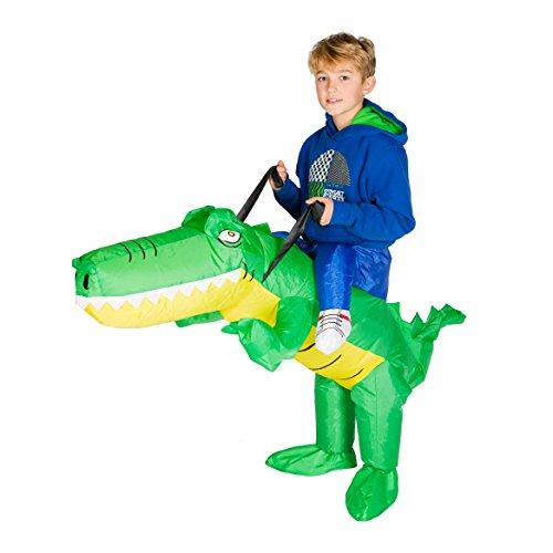 (Bodysocks® Aufblasbares Krokodil Kostüm für Kinder)