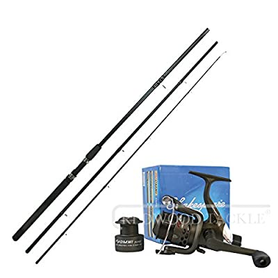 Shakespeare Match Omni Reel With Line & 3pc ngt Float Fishing rod 10ft by redwood