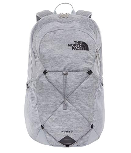 The North Face, T93KVC, Zaino Rodey, Unisex - Adulto, Grigio (Mid Grey Dark Heather/TNF Black), Taglia Unica