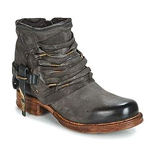 Airstep / A.S.98 Saint Stiefelletten/Boots Damen Schwarz/Fume - 42 - Boots