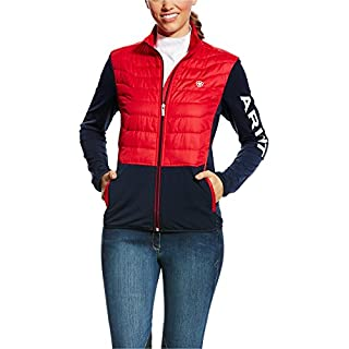 Ariat Capistrano Womens Team Jacket - Navy/Red: Medium