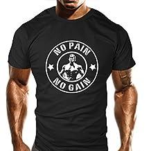 Pour Homme Nouveau gain sans douleur sans Sport pour Femme–Haut Formation–Sport–Bodybuilding Casual Coupe ample Top