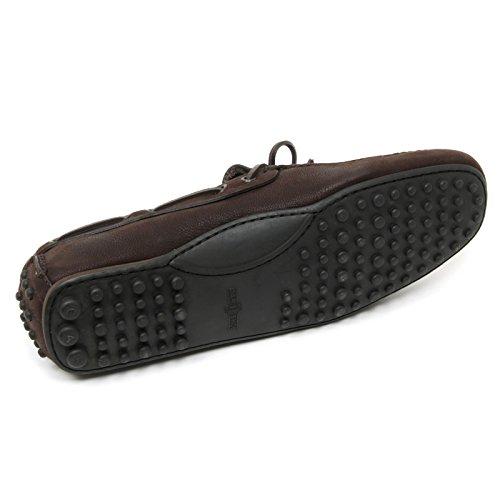 B9004 mocassino uomo CAR SHOE KUD600 scarpe marrone loafer shoe man Marrone