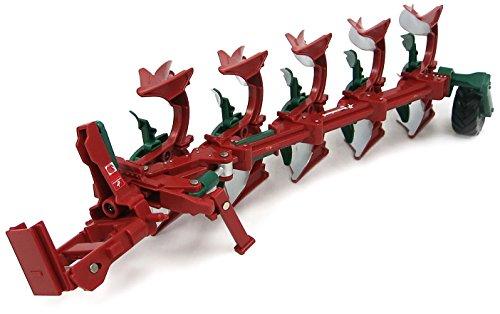 TOMY - 43081a1 - Véhicule Miniature - Modèle À L'échelle - Charrue Kverneland