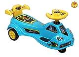 #3: Baybee MileStone Swing Car (Blue)