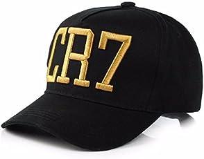 Handcuffs Stylish Cotton Baseball Adjustable Black Cap for Men/Women