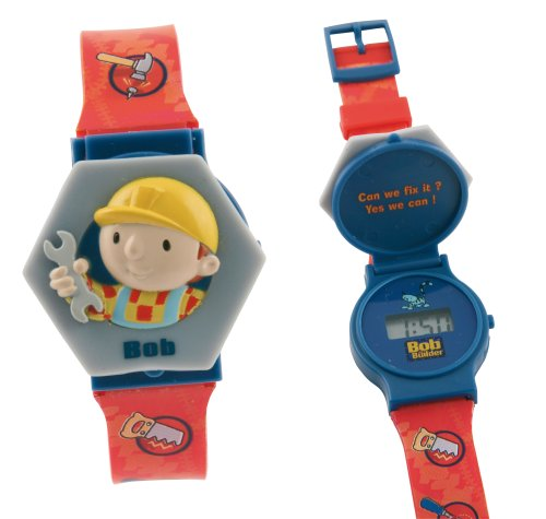 Bob The Builder Fliptop Lcd Watch