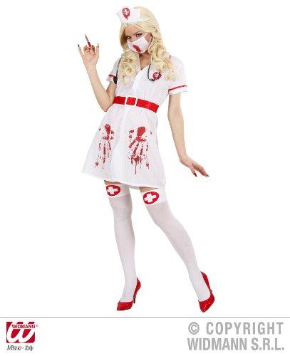 Frauen Kostüm Für Halloween Arzt (KOSTÜM - KRANKENSCHWESTER - Größe 42/44)