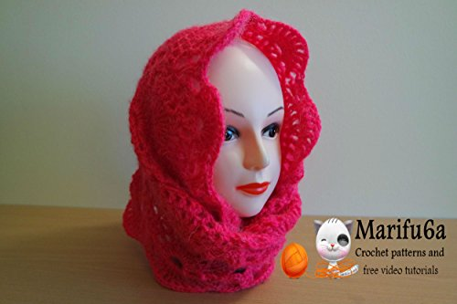 crochet hooded lace cowl: crochet hooded lace cowl (English Edition) (Cowl Lace)