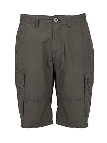 Fox Green Black Lightweight Cargo Shorts - Angelhose, Cargoshorts, Angelshorts, Shorts für Angler, Hose zum Angeln, Anglerhose, Größe:M