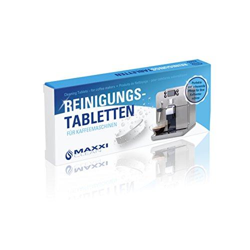 Maxxi Clean 40 Reinigungstabletten für Kaffeevollautomaten und Kaffemaschinen I Reinigungstabs als...