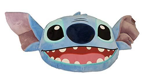 Licensed_Primark Disney Kissen, Motiv Stitch Big Face, 65 cm, 3D-Plüsch