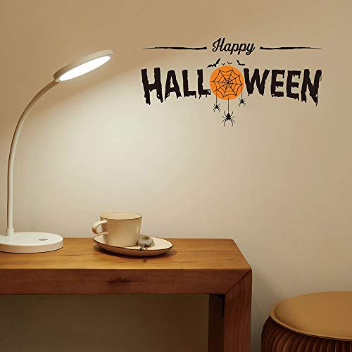 Diy Wandaufkleber Wandtattoos Happy Halloween Hexe Ghost Bat Katze Wandaufkleber Für Wohnzimmer Fenster Glas Decor Home Vinyl Wandbild Wandkunst Aufkleber