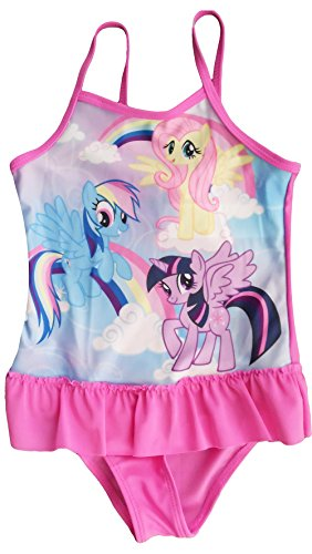 MLP Official Licensed My Little Pony Girls Swimming Costume