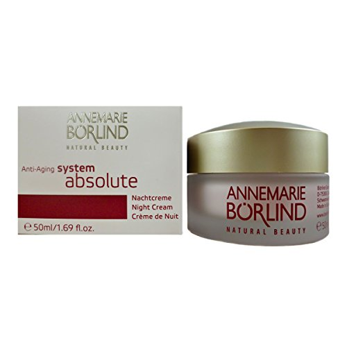 Annemarie Börlind System Absolute femme/women, Anti Aging Night Cream, 1er Pack (1 x 50 ml) -