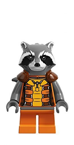 (LEGO Super Heroes - Guardians of the Galaxy Minifigur Rocket Raccon)