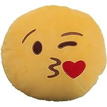 Smiley - Cojín afelpado relleno diseño Emoticono