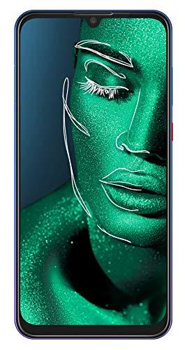 ZTE Smartphone Blade 10 (16 cm (6,3 Zoll) FHD+ Display, 64 GB interner Speicher, 32 MP AI-Selfie- und 16+5 MP Dual-Hauptkamera, Dual-SIM, Android 9) Blau