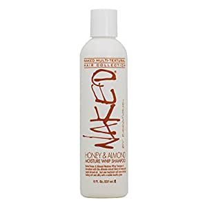 Naked By Essations Honey & Almond Moisture Whip Shampoo 8 Oz by Essations