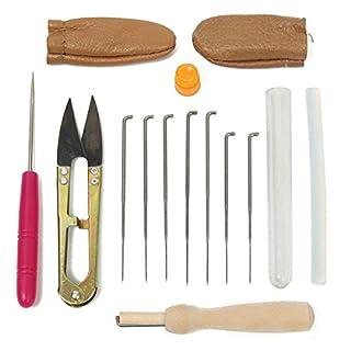 Filz-Starter-Set für Filz, Filz, 15 Stück