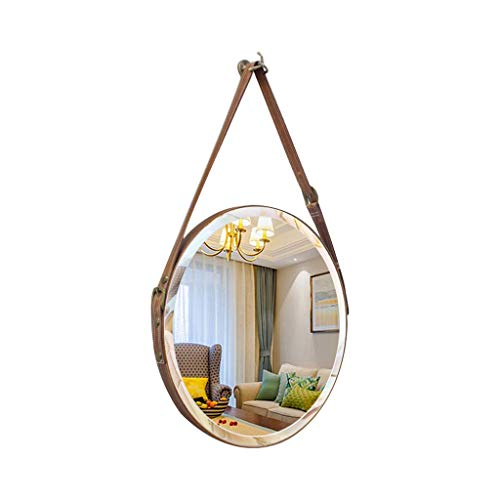 W Runder Badezimmer-Spiegel-an der Wand befestigter Schlafzimmer-Wohnzimmer-moderner hochauflösender Klarheits-Kosmetik-Spiegel