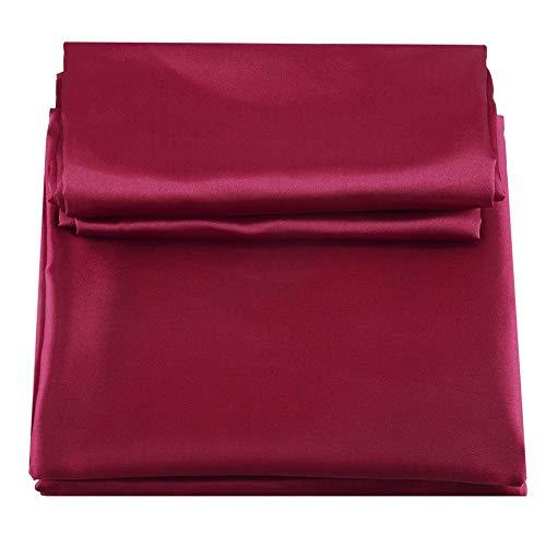 Tröster Bettwäsche-bettwäsche-satz (TOPINCN Bettwäsche Set Moderne Quilt Bettbezug Kunstseide Tröster Kissenbezug 3 Teile/Satz künstlicher Seide (Kingsize))
