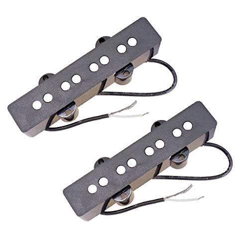 Shiwaki 2Pcs Humbucker Pickups Set für 4 String Akustik Gitarre Westerngitarren Konzertgitarre