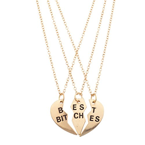 lux-accessories-best-bitches-bff-friends-forever-heart-3-pc-necklace-set