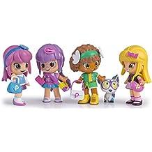 Pinypon - Set de cuatro muñecas (Famosa 700012916)