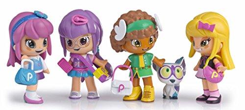 Set de cuatro muñecas Pinypon