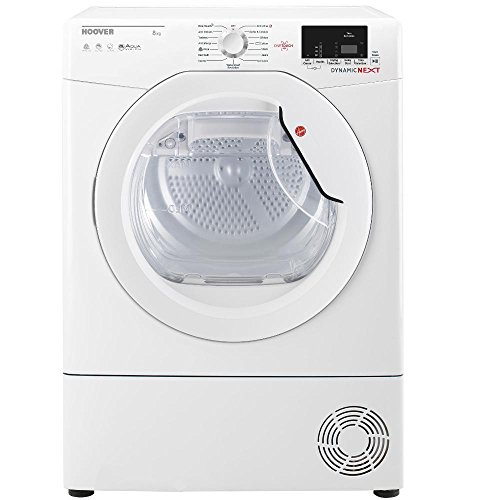 Hoover DXC8DE Tumble Dryer Condenser White 8kg Sensor B Energy Rating Delay Start Digital Display