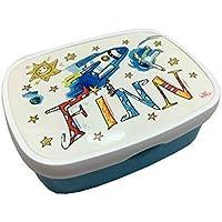 Brotdose mit Namen, Rakete, personalisierte Lunchbox, Rosirosinchen, Rosti Mepal