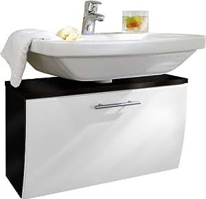 Posseik 5610 99 Waschbeckenunterschrank Santana anthrazit-weiß
