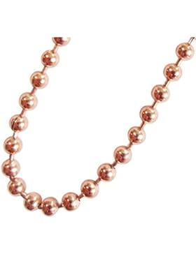 Blumenkind Damen-Halskette Roségold SC073R
