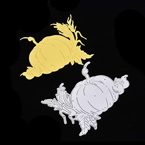 Wanfor Halloween Kürbis Stanzformen Schablone Scrapbooking Präge Papier Karte Dekor