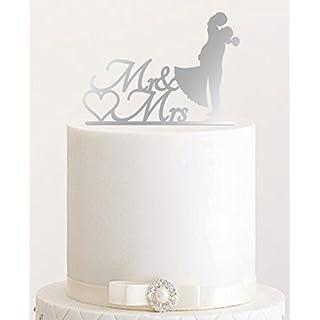 Cake topper hochzeit silber heimwerker - Kuchenspiegel acryl ...