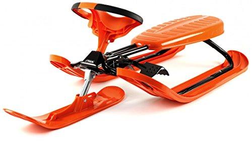 Stiga Snowracer Luge de course, Orange, Taille unique