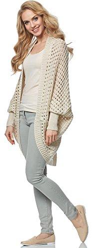 Merry Style Damen Cardigan MSSE0032 Beige