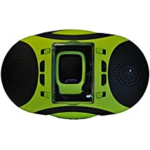 Speedo AquaSpeaker carcasa Audio portátil a prueba de agua Reproductor de MP3 de 4GB Lime