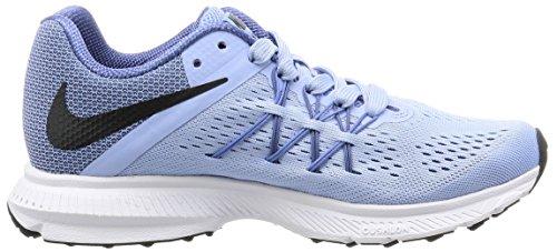 Nike Wmns Zoom Winflo 3, Scarpe da Corsa Donna Multicolore (Aluminum/Black-Blue Moon-Polar)