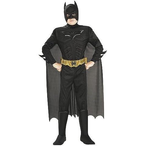 Rubie`s - Disfraz infantil de Batman TDK Rises Musculoso en caja (880401-L)