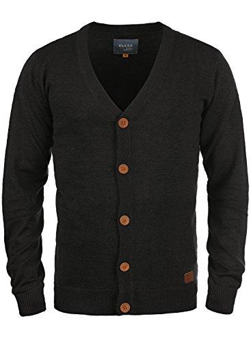 BLEND 703656ME Cardigan, Größe:M;Farbe:Black (70155)