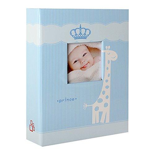 Album Photo Naissance à pochettes Prince Bleu pour 200 photos 10x15 cm